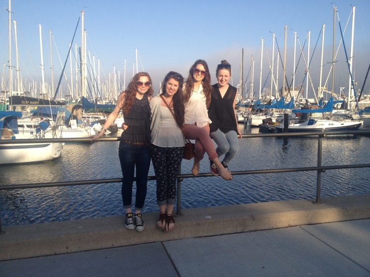 One of our first nights in Santa Barbara was spent strolling around the Marina and Pier