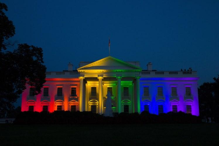 white house gay pride