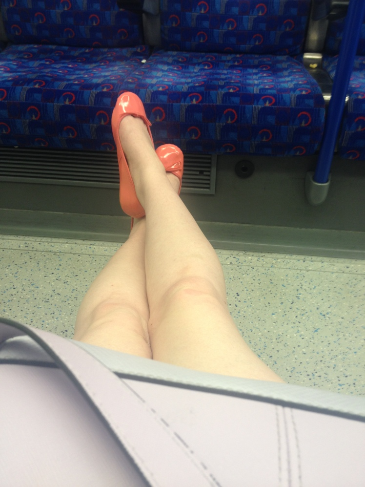 Late Night Tube Ride Home