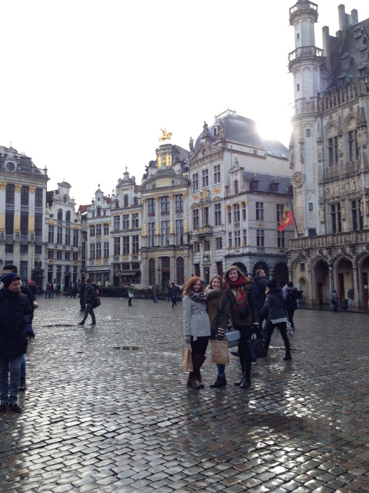 Grand Place is a must see as it encapsulates the entire atmosphere of Brussels both past and present    Photo Credit: Michelle Burke