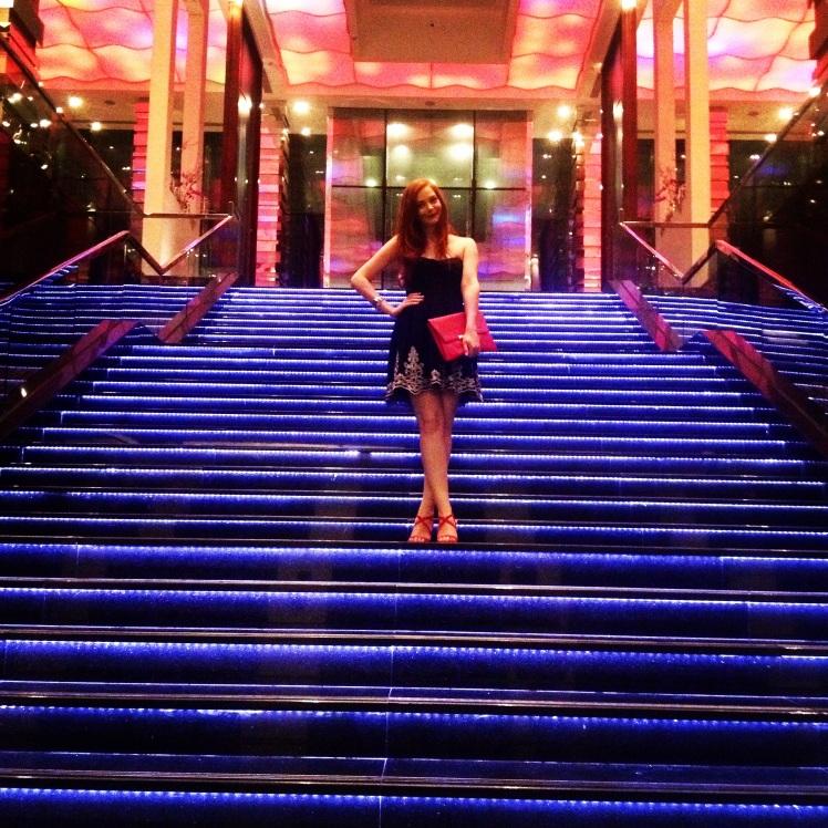 Celebrating Graduation Night at The Westin Hotel, Abu Dhabi.